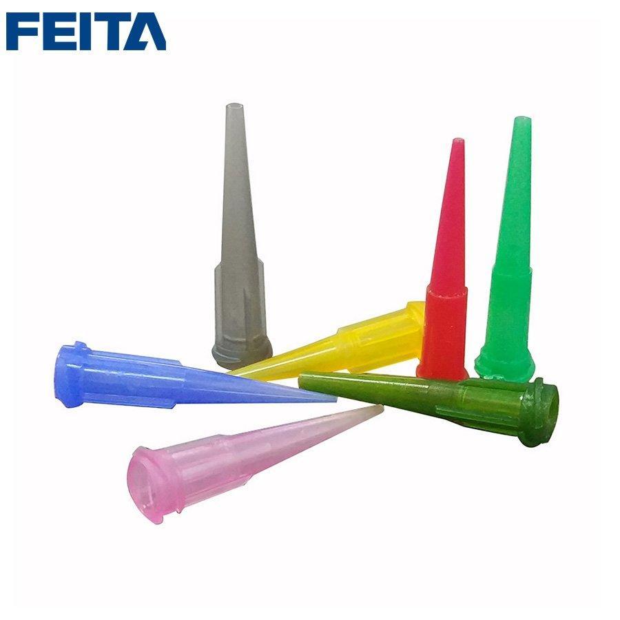 TT Plastic Glue Needle Tips Adhesive Glue Liquid Dispenser Dispensing Needles 14G, 166G, 18G, 20G, 22G, 25G, 27G Size