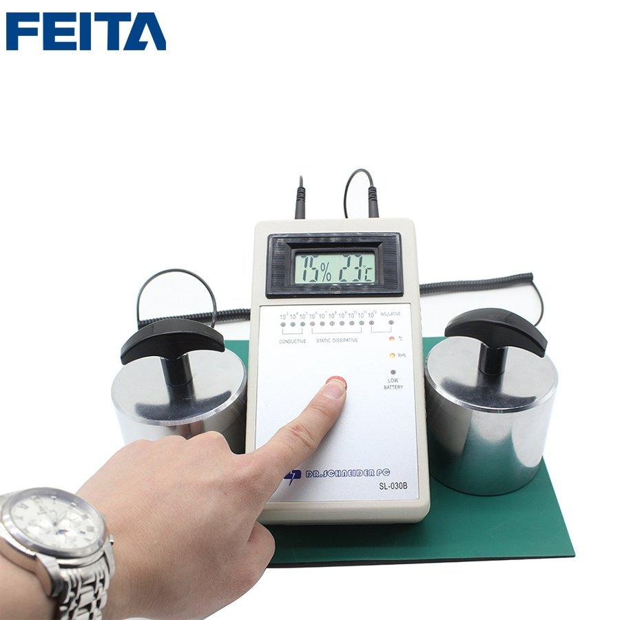 SL-030B Surface Resistivity Tester Static Electrical Impedance Meter with Hammer