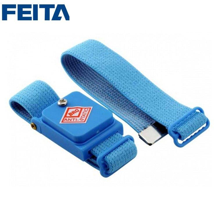 Blue Cordless Clip Antistatic Wristband  Wireless Anti Static ESD Wrist Strap Discharge For Electrician PLCC worker