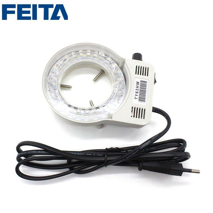 FT-6045 LED Adjustable Light Illuminator Lamp For Stereo Zoom Microscope