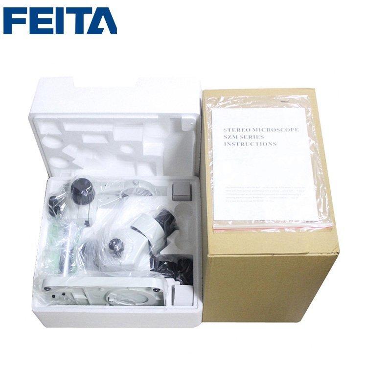 FTSM-45T1 Optical Instrument Digital Electronic LED Illumination Stereo Zoom Eyepiece Microscope