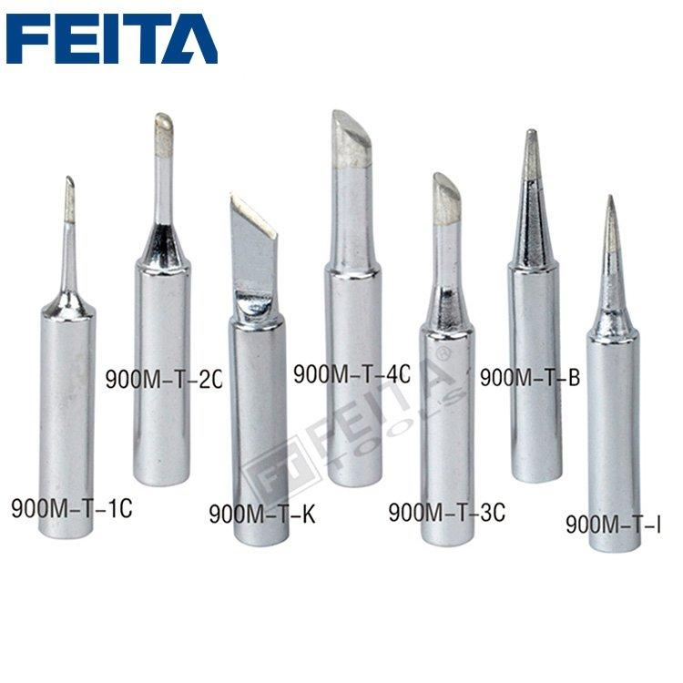 FEITA 900M-T Series Soldering Iron Tip Fit for 936 936A 936B 936D 937 8586 Soldering Station
