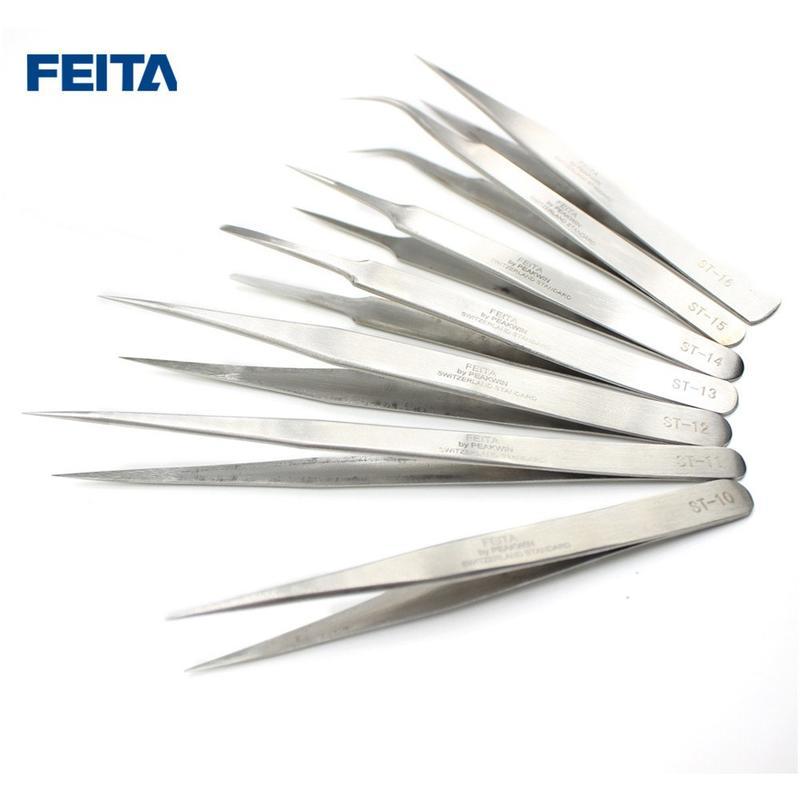 ST Series Stainless steel precision tweezers
