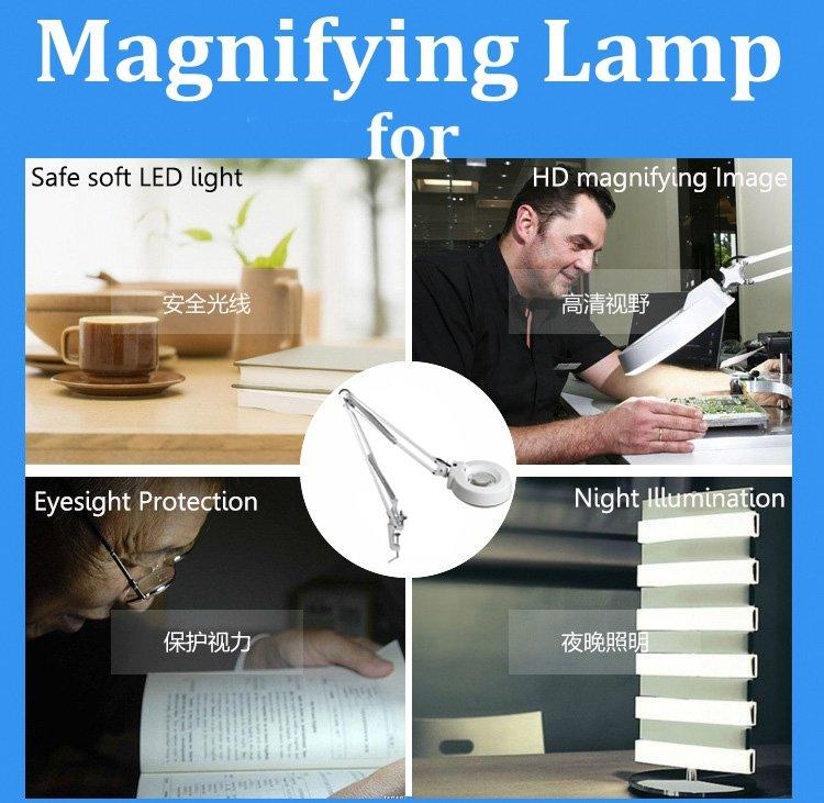 LT-86A LED Light Table Holder Magnifying lamp