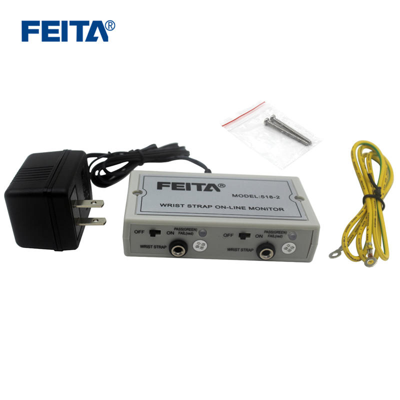 FEITA 518-2 ESD Wrist Strap Antistatic On-line Monitor